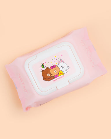 Super Aqua Perfect Cleansing Water In Tissue (LINE FRIENDS Edition)