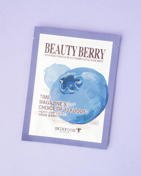 SKINFOOD Everyday Beauty Berry Facial Mask Sheet
