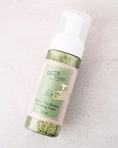 SKINFOOD Green Tea Bubble Cleansing Foam