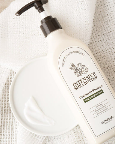 SKINFOOD Intensive Shea Butter Cream in Shower