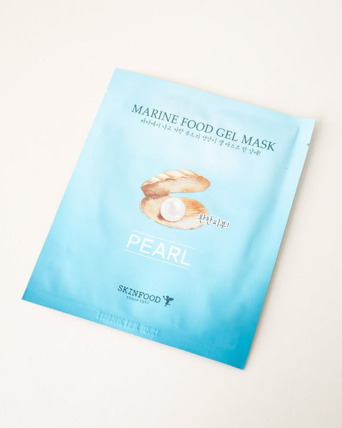 SKINFOOD Marine Food Gel Mask - Pearl