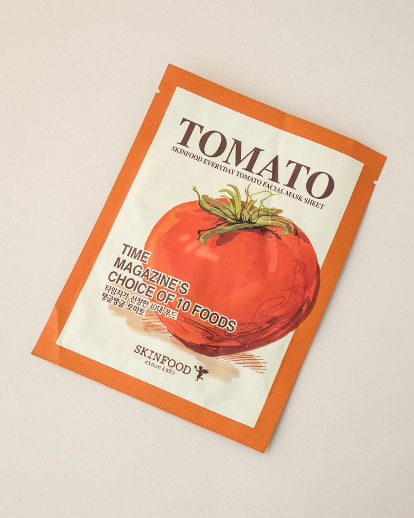 SKINFOOD Everyday Tomato Facial Mask Sheet