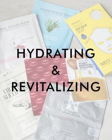 Skincare Hydrating + Revitalizing Sheet Mask Set, skin care