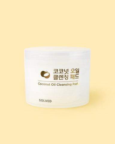 Coconut Oil Cleansing Pads