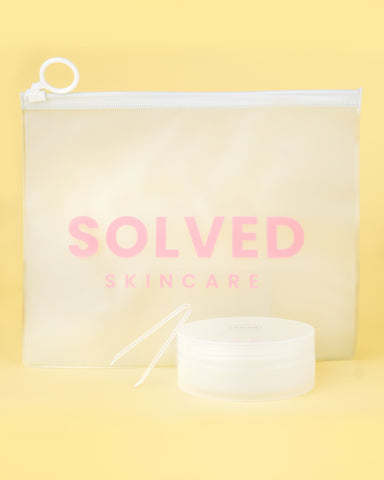 Solved Skincare Promotion Pouch