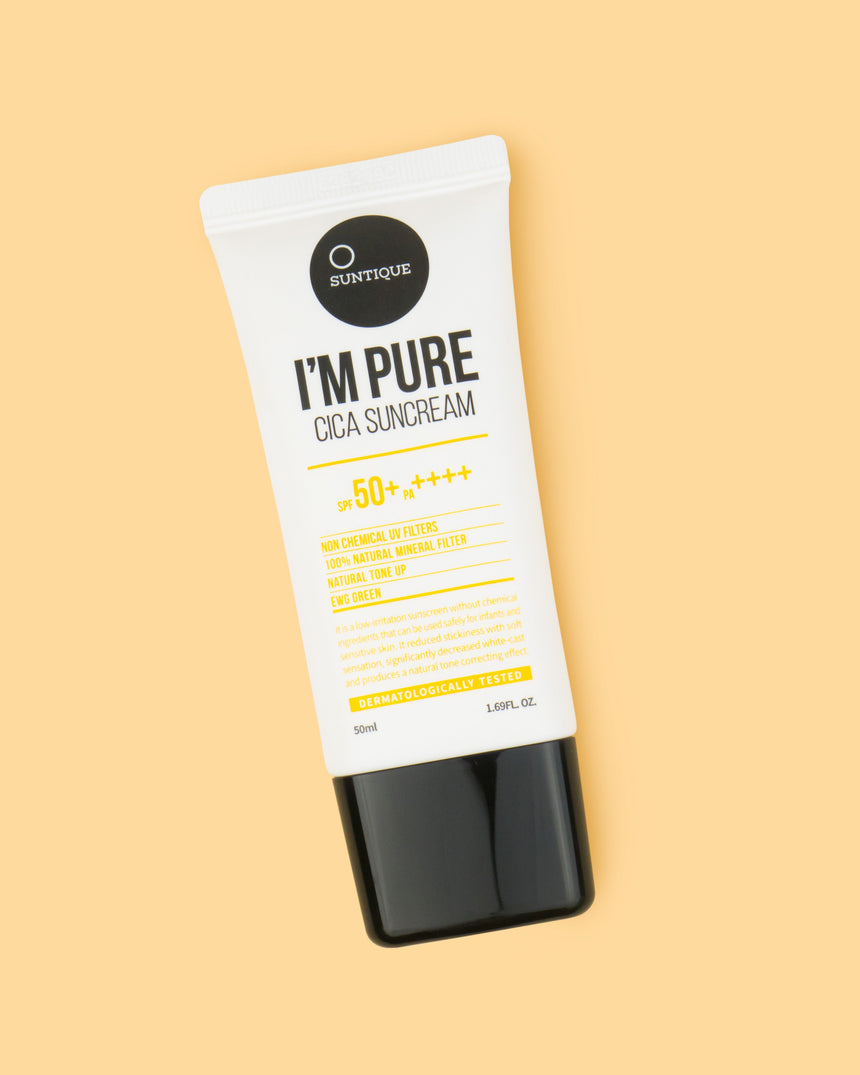 SUNTIQUE I'm Pure Cica Suncream