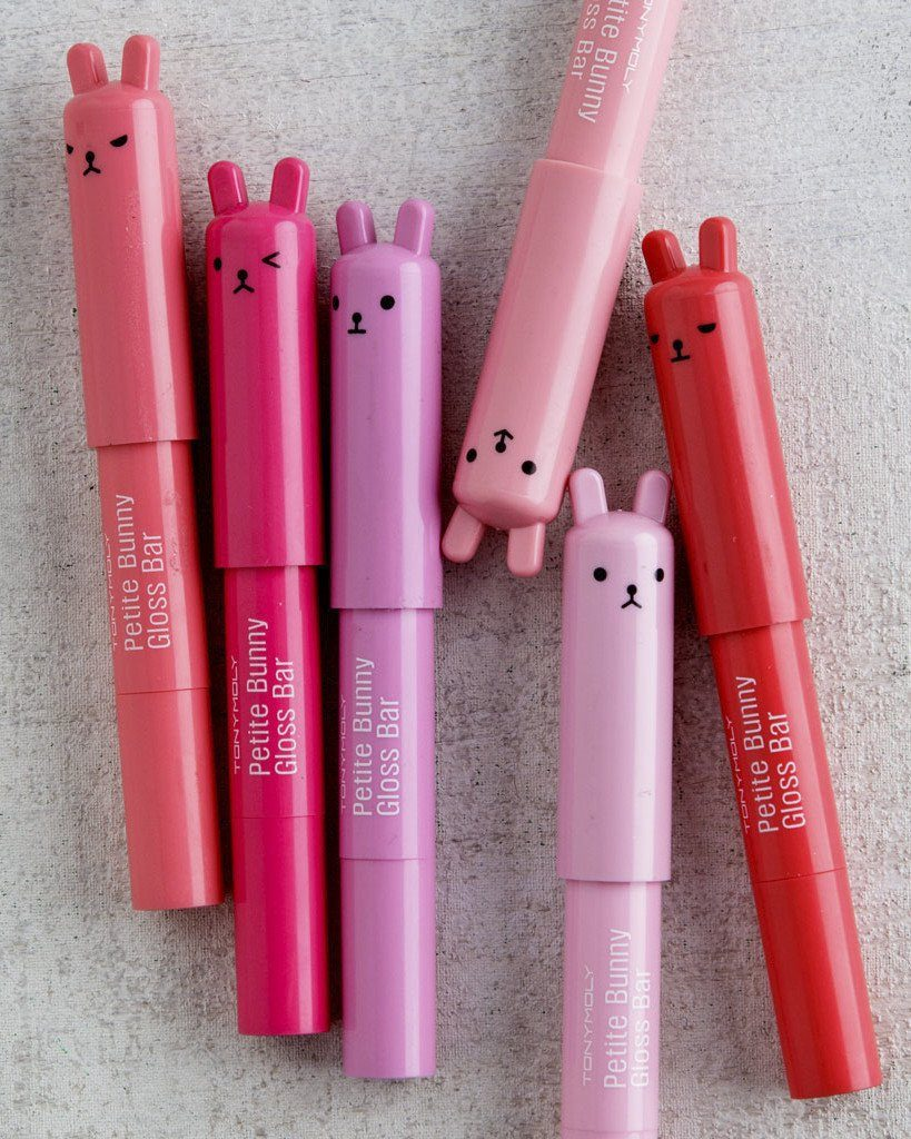 Tony Moly Petite Bunny Gloss Bar, lip gloss, makeup