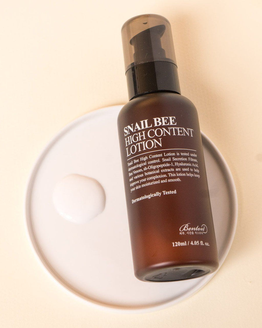 Benton, Snail Bee High Content Lotion, skin care, skincare, lotion