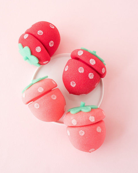 ETUDE HOUSE My Beauty Tool Strawberry Sponge Hair Curlers
