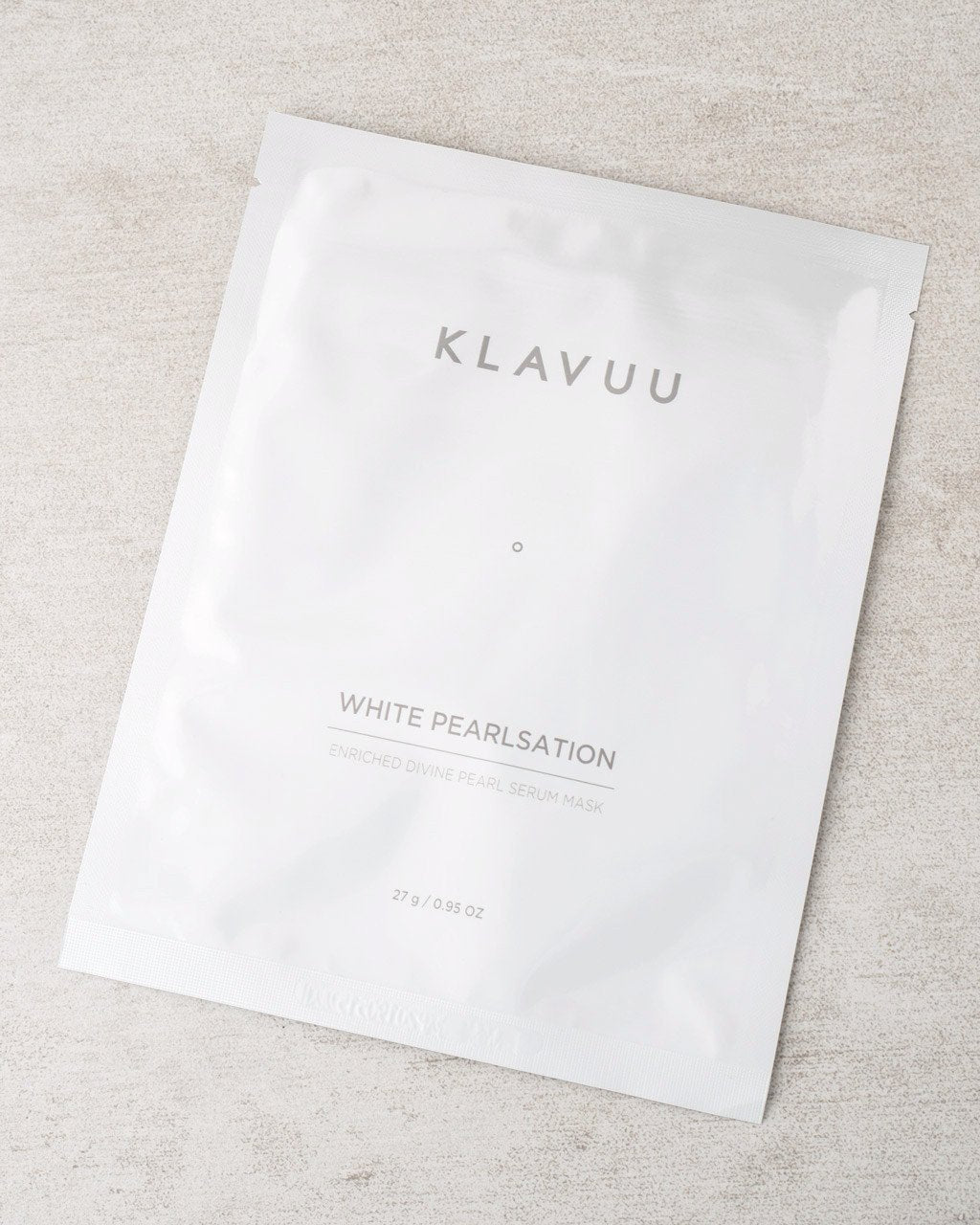 KLAVUU WHITE Pearlsation Pearl Serum Mask, sheet mask, skincare, skin care