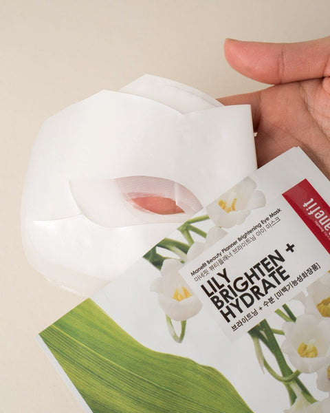 MANEFIT Beauty Planner Lily Brightening Eye Mask