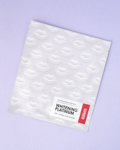 MANEFIT Bling Bling Hydro Gel Mask - Whitening Platinum
