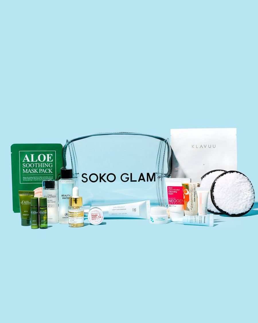 Glow-ing Away Travel Set