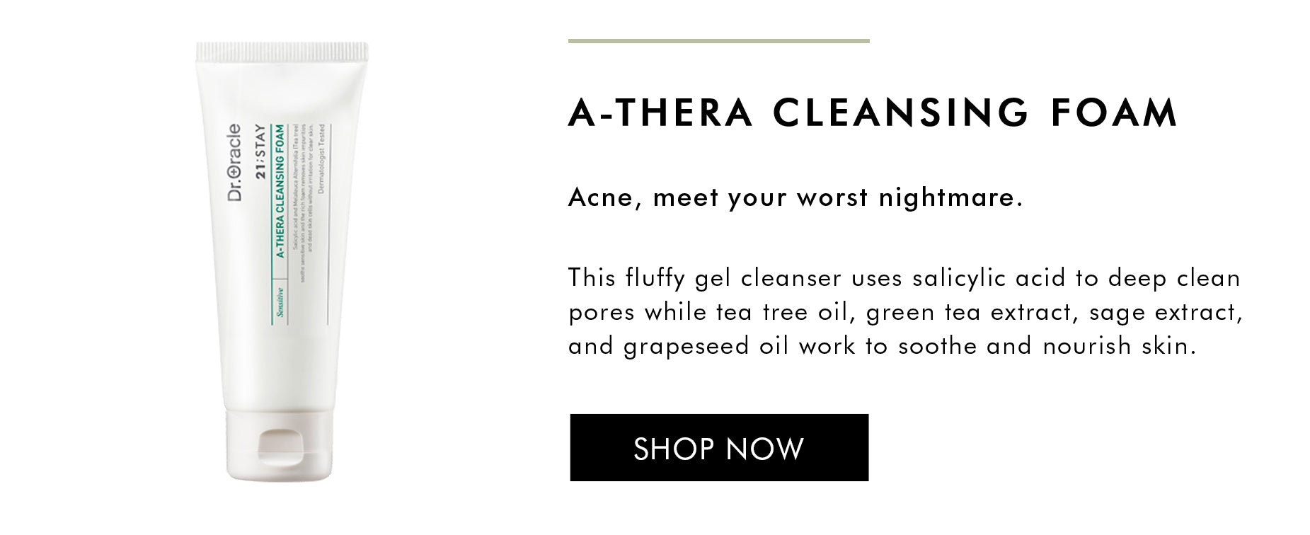 Shop A-there cleansing foam