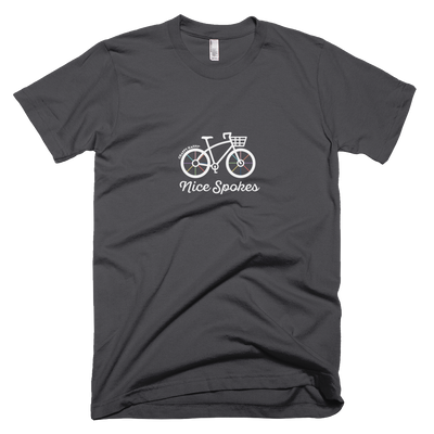 "Mens ""Nice Spokes"" T-Shirt - Chappy Happy"