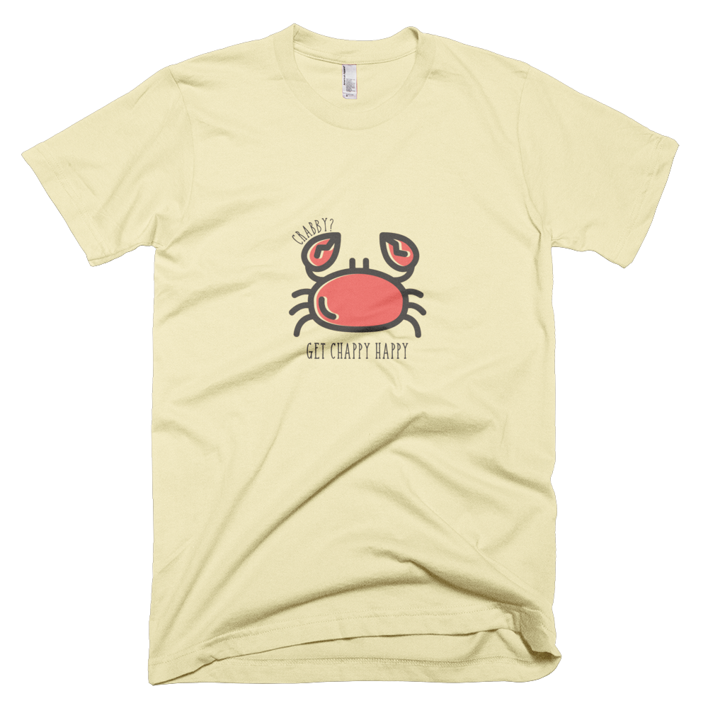 "Kid's ""Crabby"" T-Shirt - Chappy Happy"