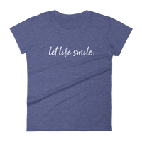 Let Life Smile Tee - Chappy Happy