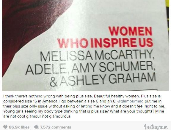 My Thoughts on Amy Schumer's Plus Size Comments