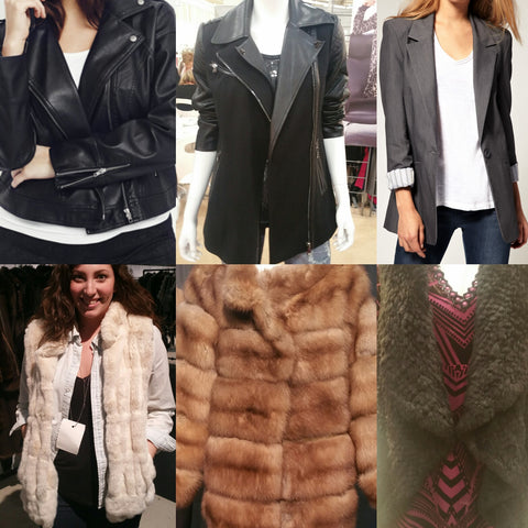 Fall/Winter 2016 Jacket Trends. Biker Jacket, Boyfriend Blazers and Teddy Bear Jackets. Plus Size
