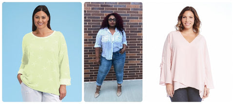 Plus Size Pastel Clothing Options at z.bella boutique