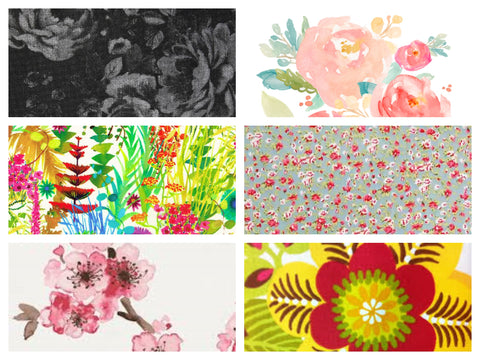 Examples of Floral Prints in Fashion