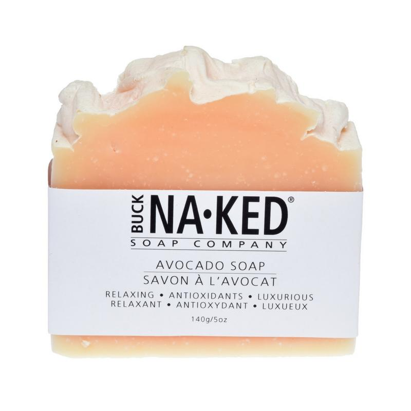 Buck Naked Soap Company - Avocado	Soap - 140g/5oz