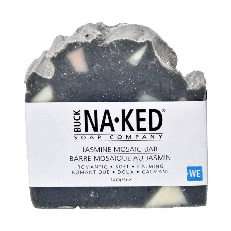 Buck Naked Soap Company - Jasmine Mosaic Soap - 140g/5oz