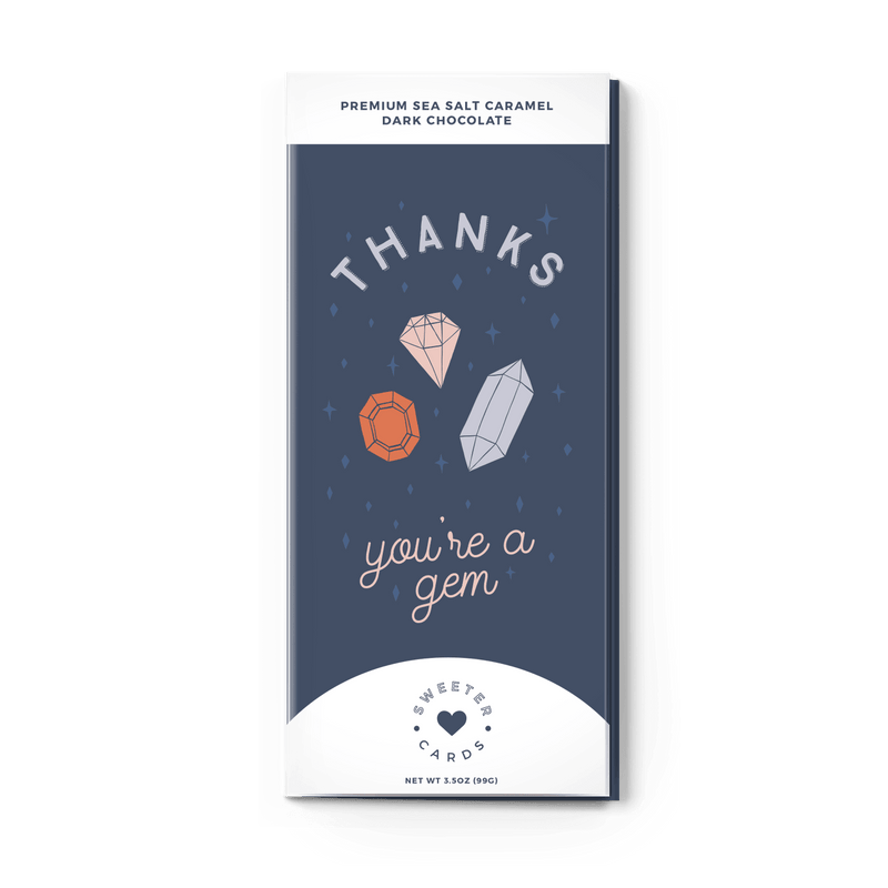 Thank You Card with Chocolate Inside