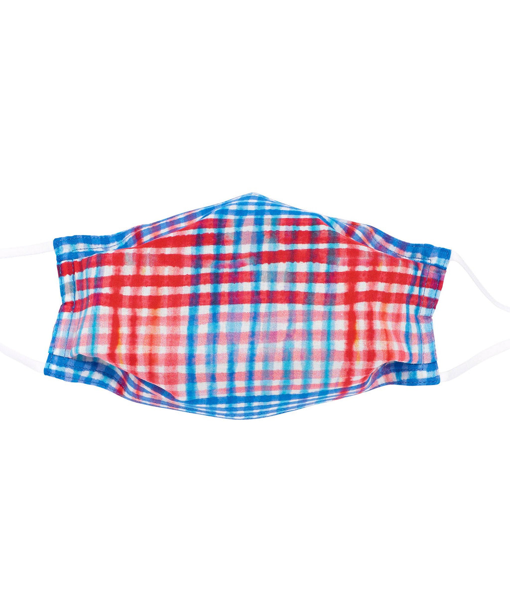 Painted Plaid Cooling Mask