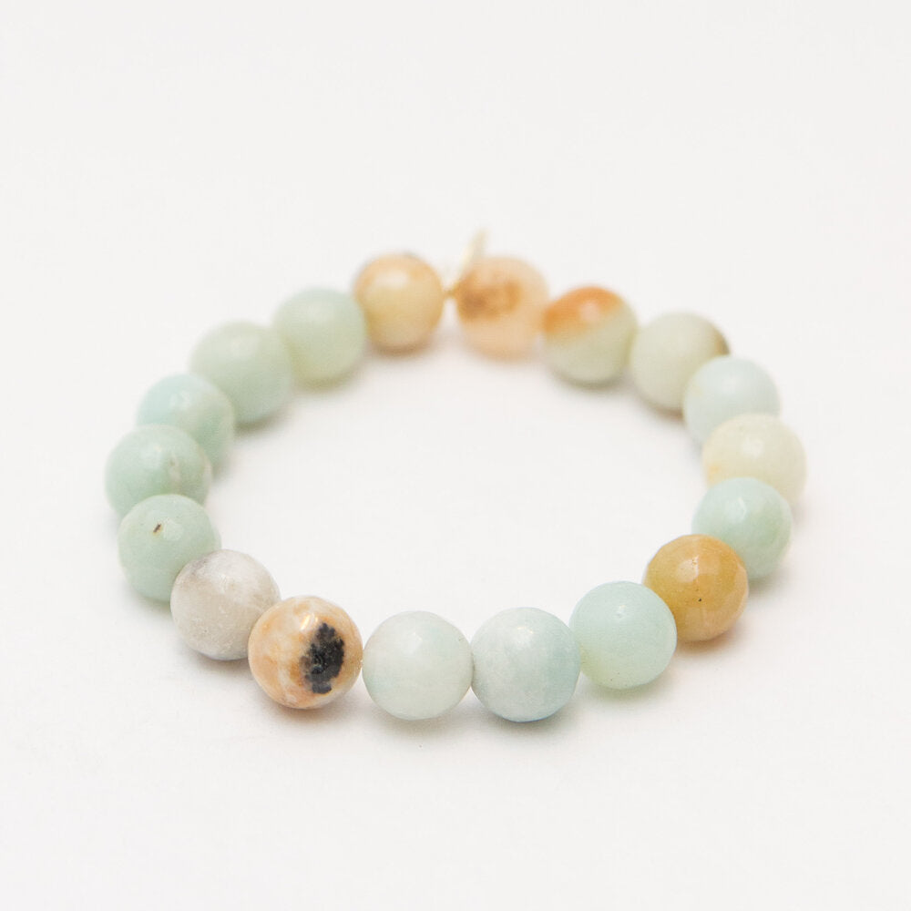 Monkey Chatter Quieting + Stress Relief Amazonite
