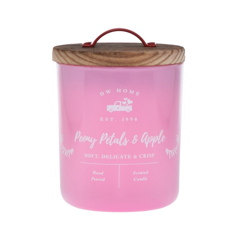 Pink Petals & Apple Candle