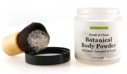 Botanical Body Powder & Brush Set