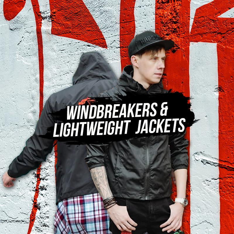 Wind Breakers & Lightweight Jackets