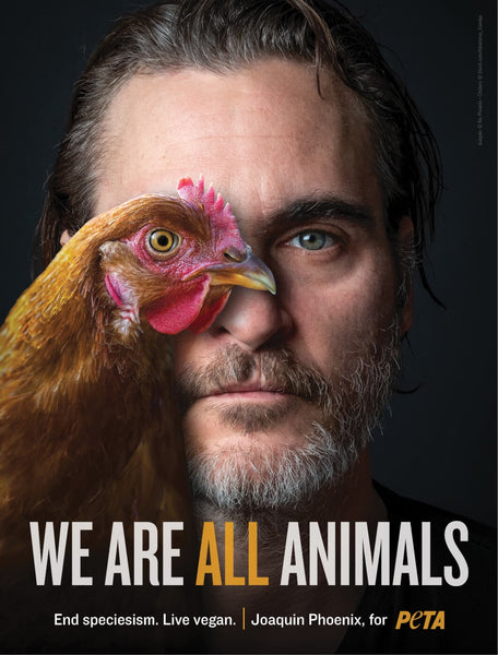 joaquin phoenix end speciesism we are all animals vegan fashion