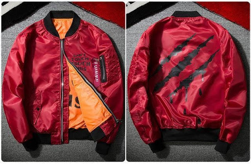 savagery bomber red