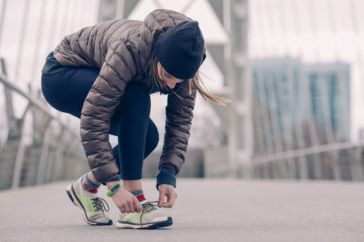 winter workout ideas bring clothes to work and jog to home