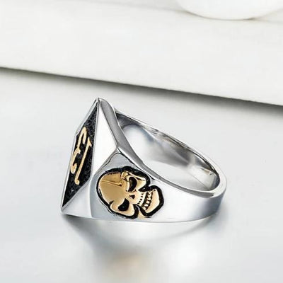 'Biker Lucky Number 13' Ring