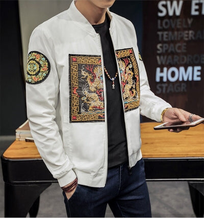 'Ancient Dragon' Bomber Jacket