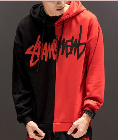 Red 'Savagery' Hoodie Front view