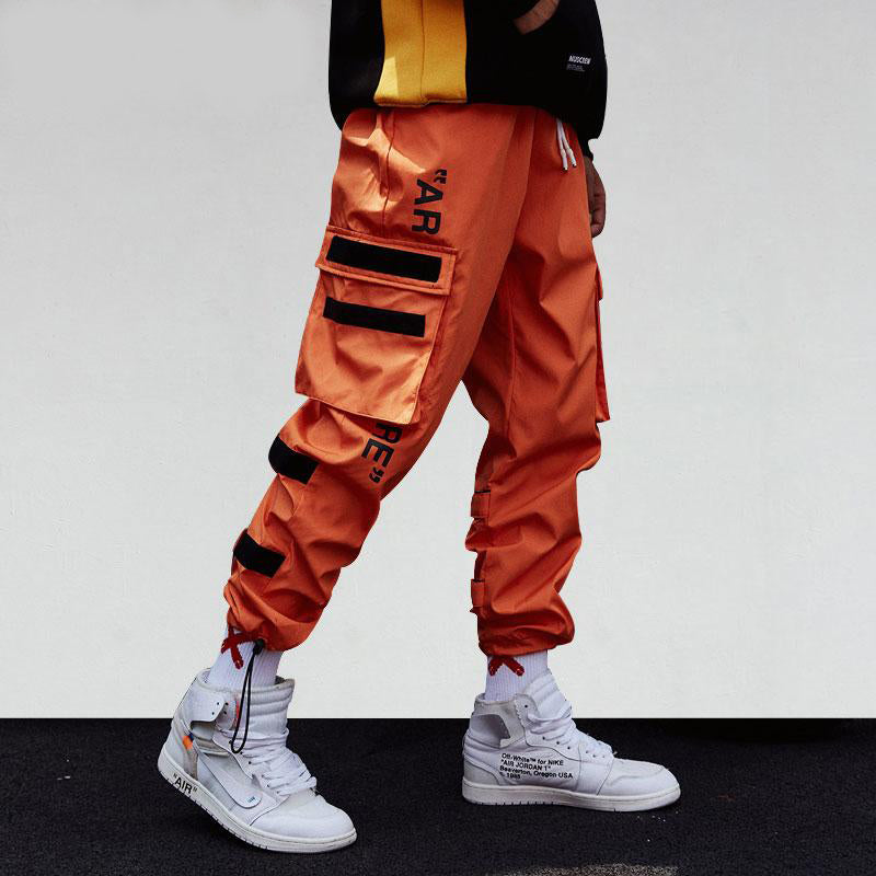 Strappy Hip Hop Cargo Pants