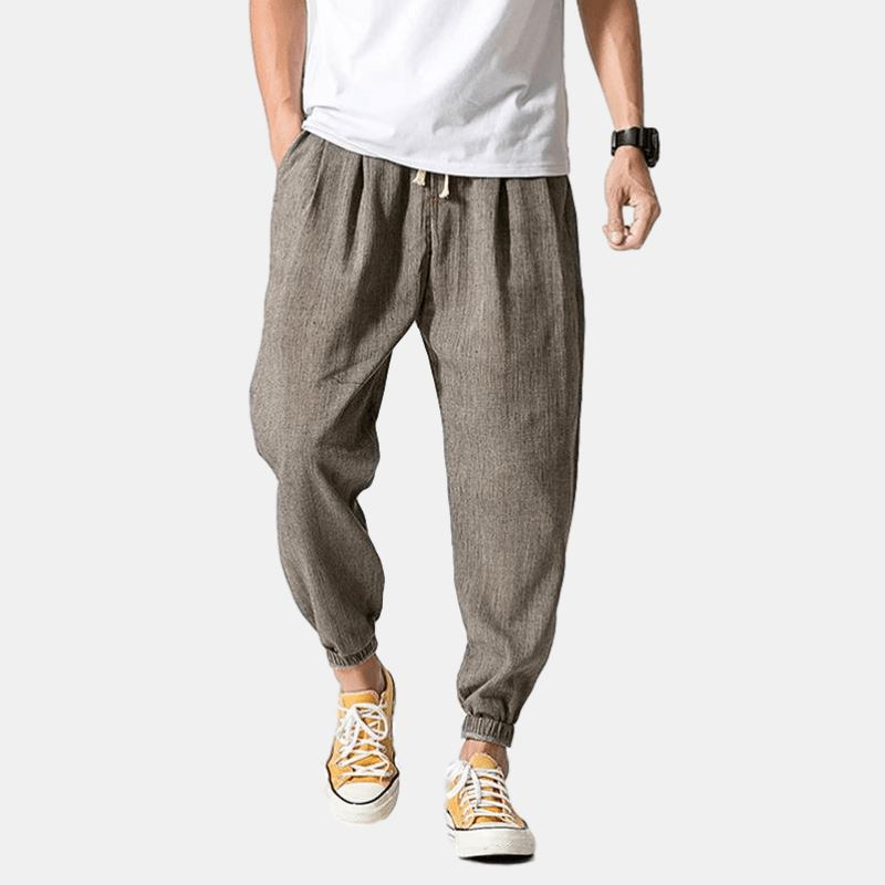 Gray 'Remy' Harem Pants