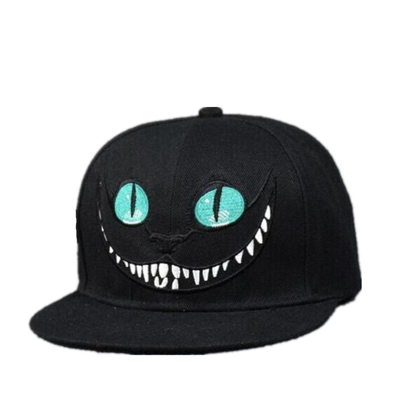 'Cheshire' Snapback Cap full view
