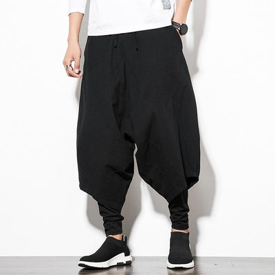 Black Orion Harem Pants
