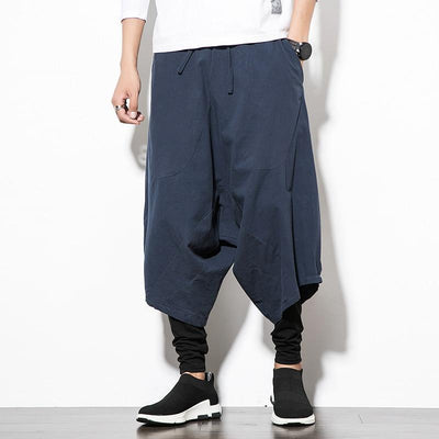 Navy Blue Orion Harem Pants