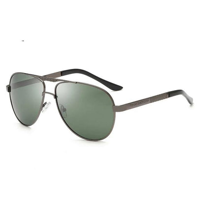 Green 'Stefan Classic' Sunglasses