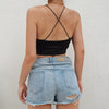 'Jazlin' Boho Crop Top