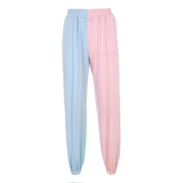 Multicolored Pastel Sweatpants