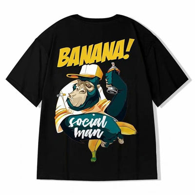 Banana' Graphic Print Shirt