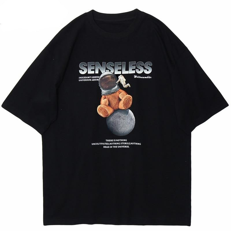 'Senseless Space Teddy' Graphic T-Shirt