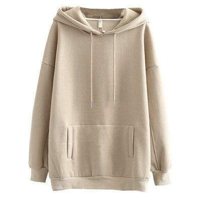 Comfy Pastel Oversized Hoodie
